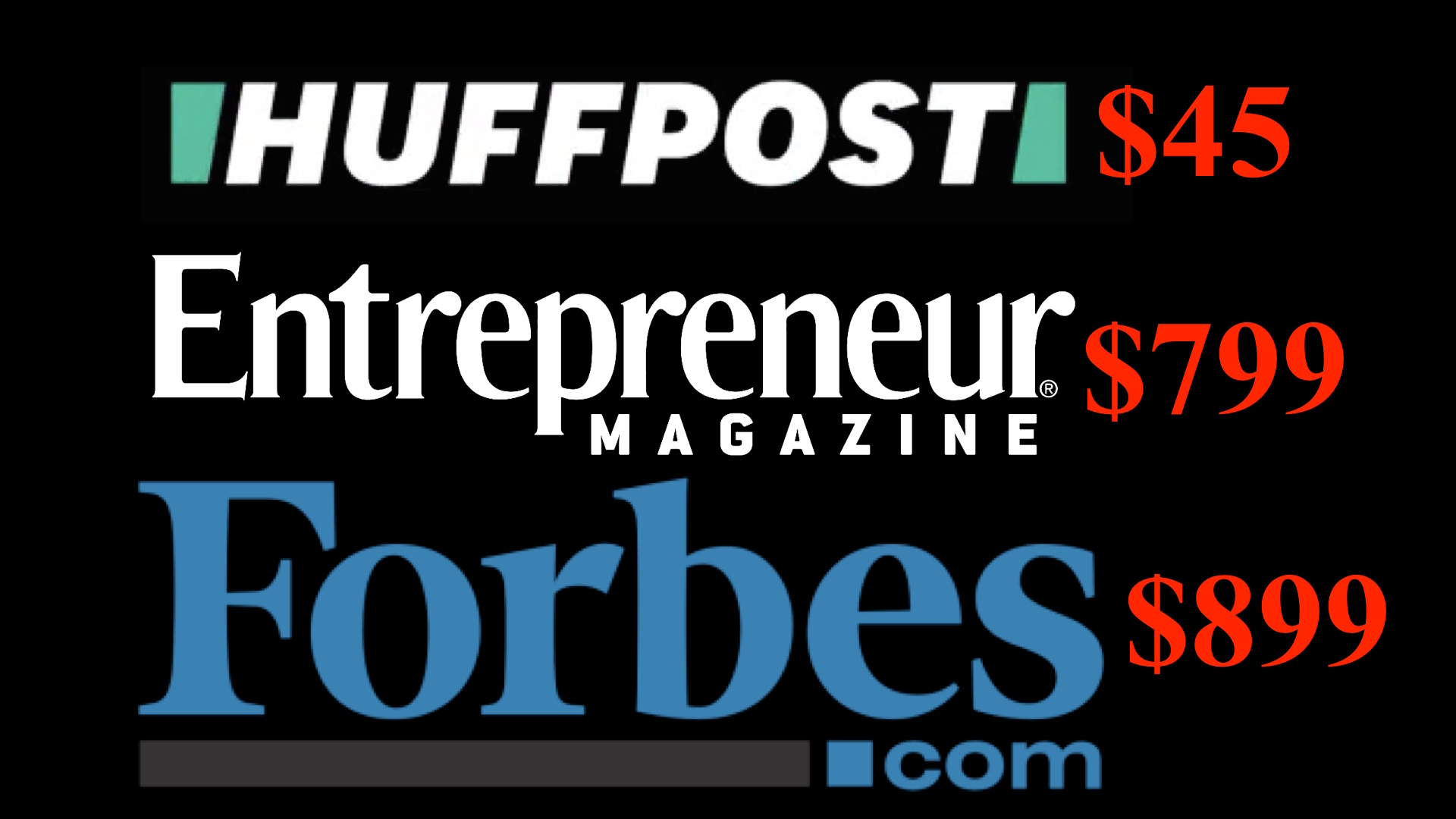 What's on Forbes Entrepreneur